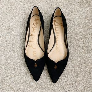 Sam Edelman Ruby Suede pointed toe flats size 8.5